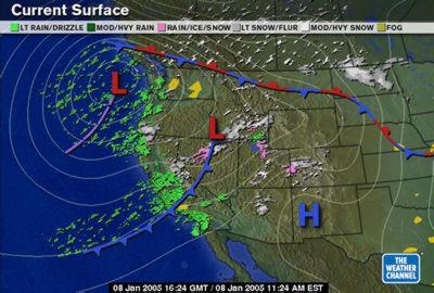 Tv Weather Map.Where Wetness Abides Tom Mangan Writer Editor