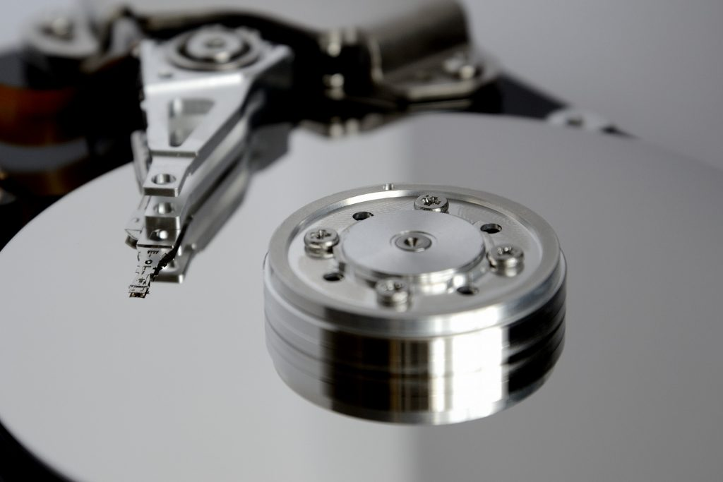 image of a disk drive for b2b technology marketing blog