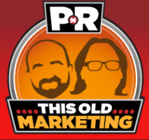 image of this old marketing podcast by joe pulizzi and robert rose