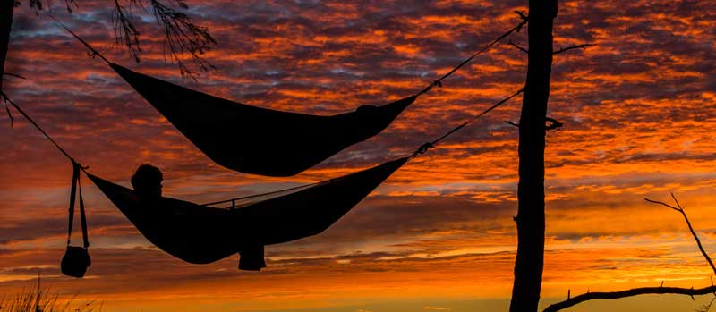 hammock picture represents being able to relax and let managed services providers take over IT duties