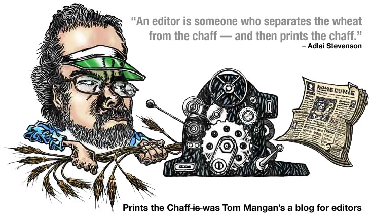 Prints the Chaff, a Blog for Editors