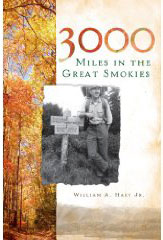 book cover 3000 miles in the smokies