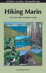 Hiking Marin book cover