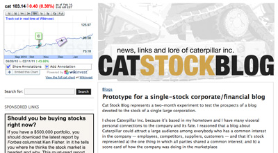 Cat Stock bog screen grab
